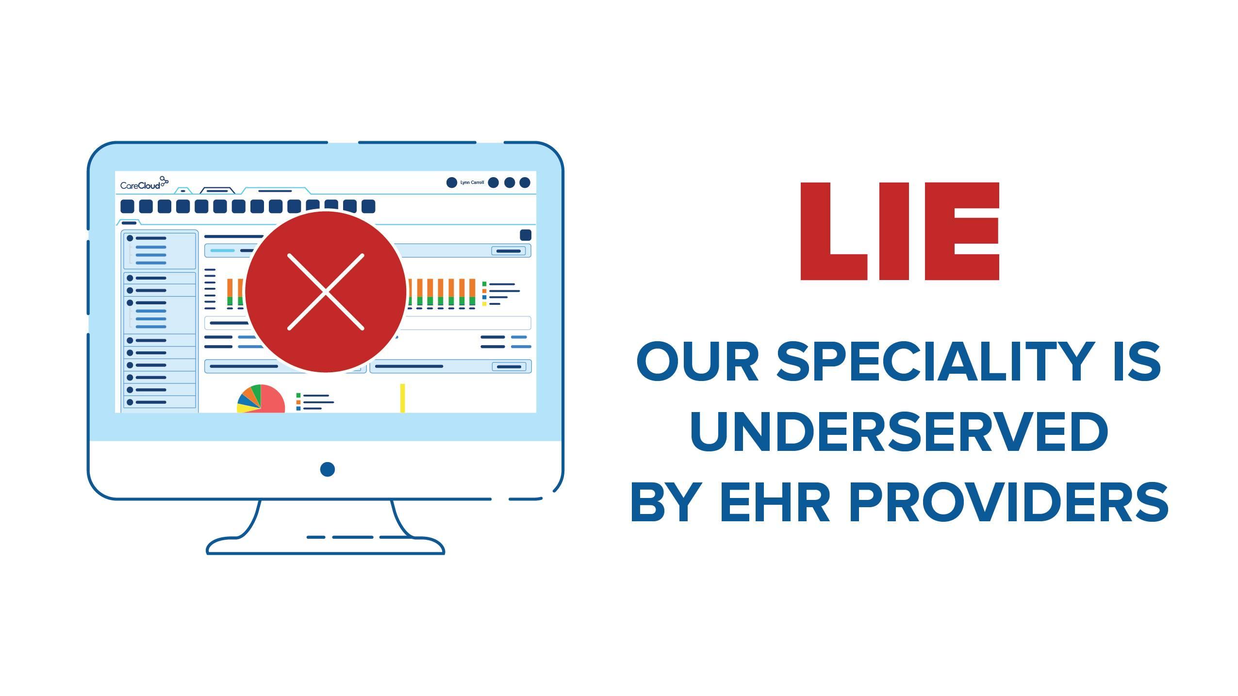 graphic of EHR underserved
