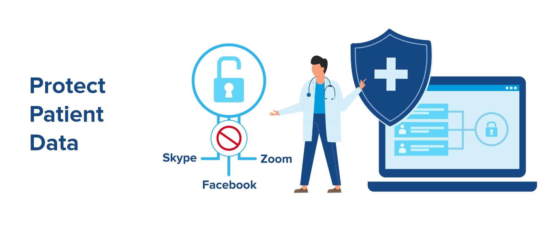 telehealth solution should be secure and hipaa compliant