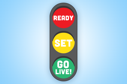 ready  set  go live  the cloud keeps growing clipart checkbox clipart check