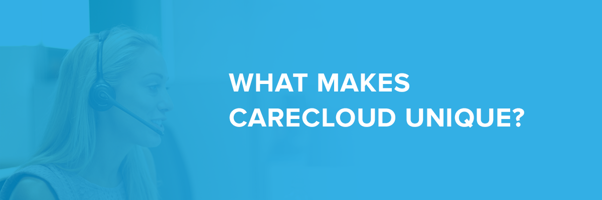What makes carecloud unique image