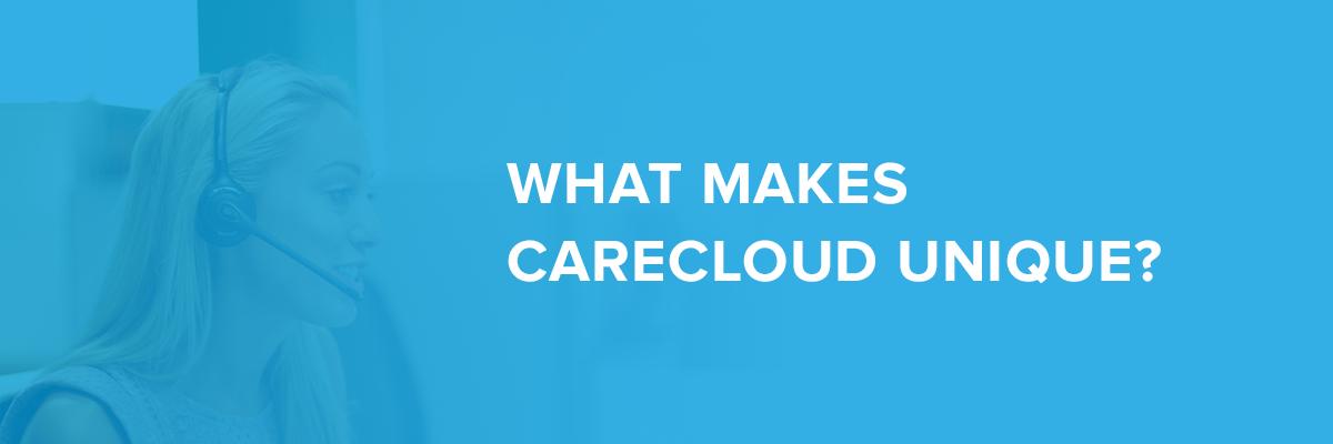 What makes carecloud unique image
