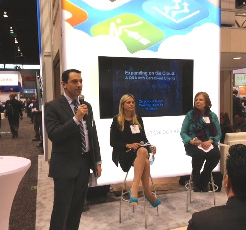 HIMSS panel photo