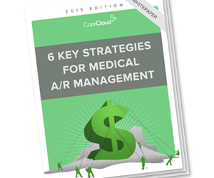 Cover 6 key medical A/R strategies white paper