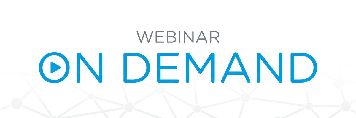 On Demand Webinar image