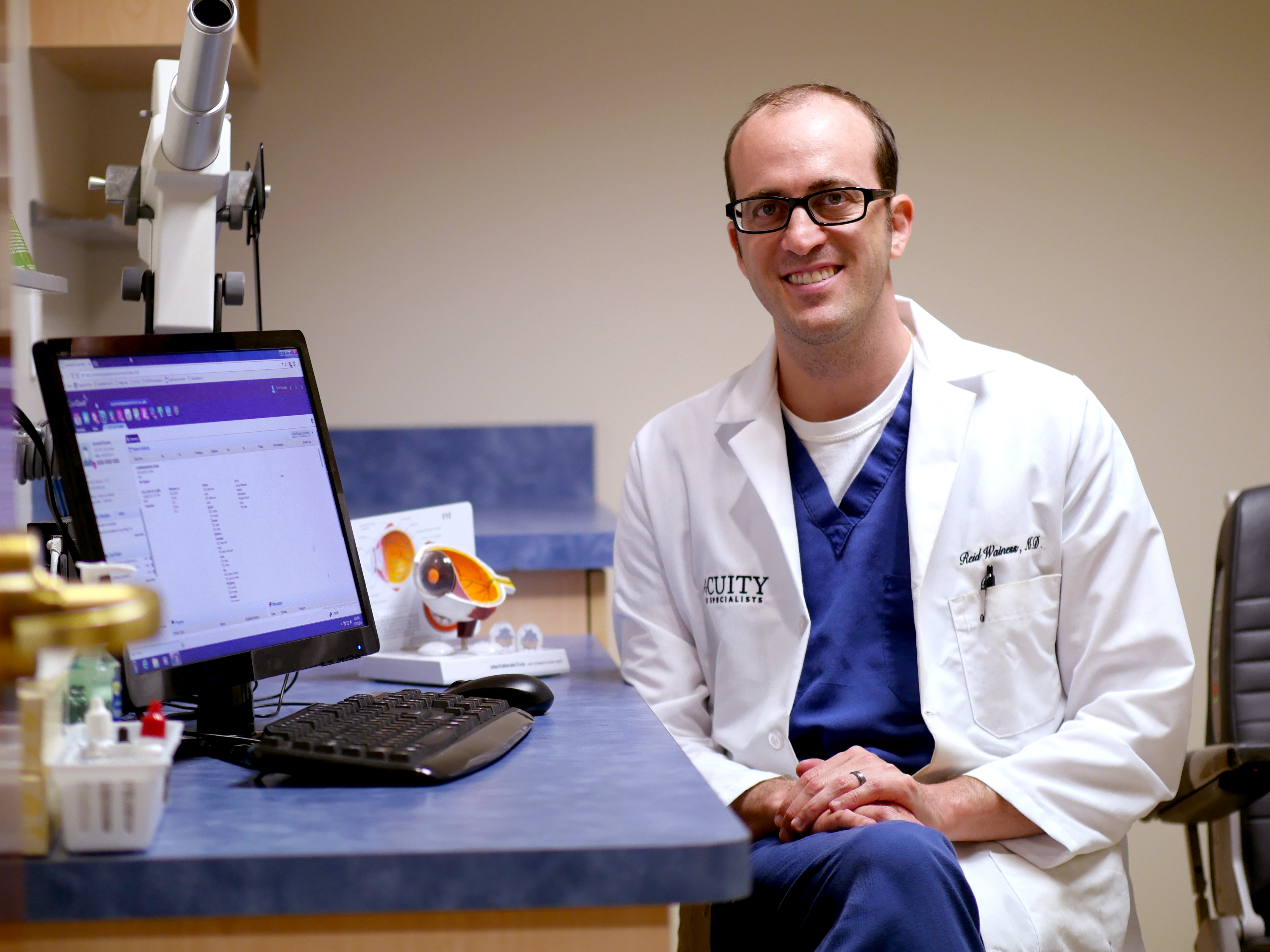Dr. Reid Wainess, Acuity Eye Specialists/Retina Institute