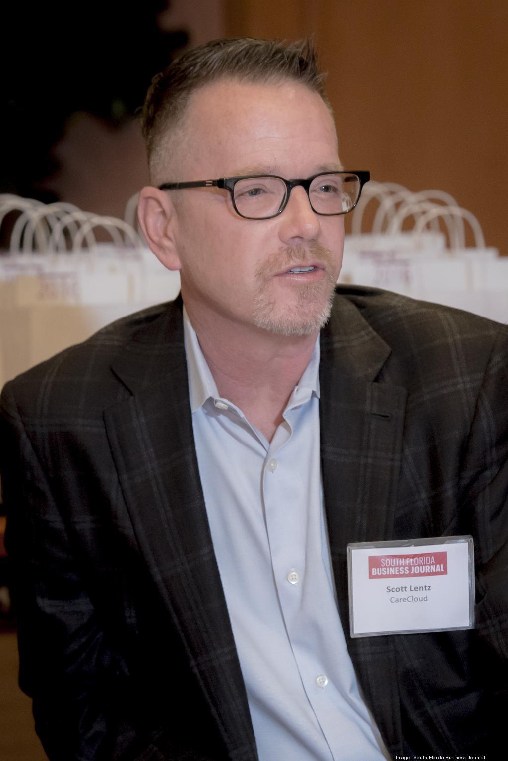 R. Scott Lentz, CFO CareCloud Photocredit: Jock Fistick