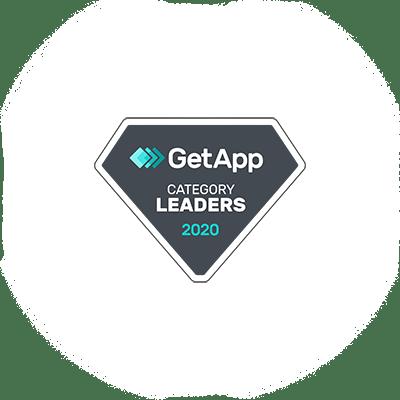 GetApp Category Leaders 2020 Badge