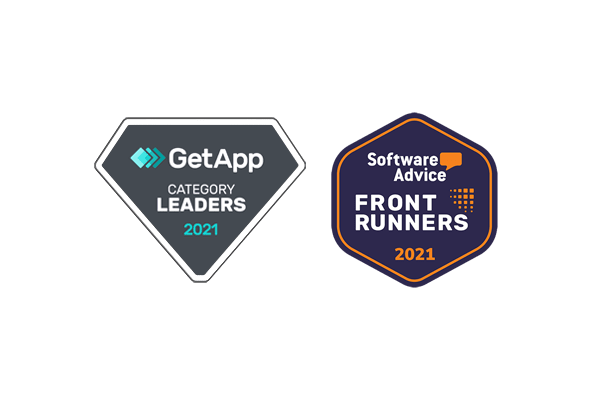 GetApp and Software Advice Category Leaders 2021 Badges